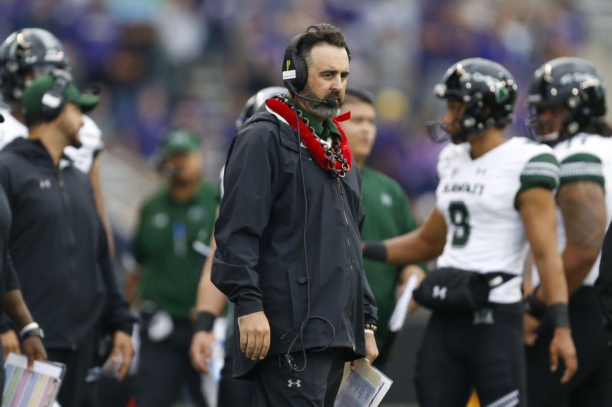 NCAA Football: Hawaii at Washington