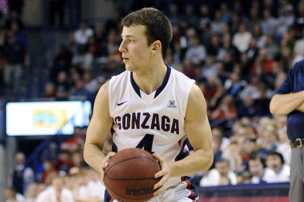 Kevin Pangos put on another show from downtown.