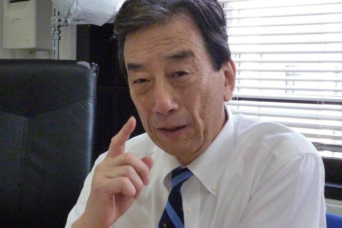 In this photo taken Thursday, Sept. 13, 2012, Kiyoshi Kurokawa, a medical doctor who headed the Fukushima Nuclear Accident Independent Investigation Commission, speaks during an interview in Tokyo. The head of a major investigation into Japan's nuclear di