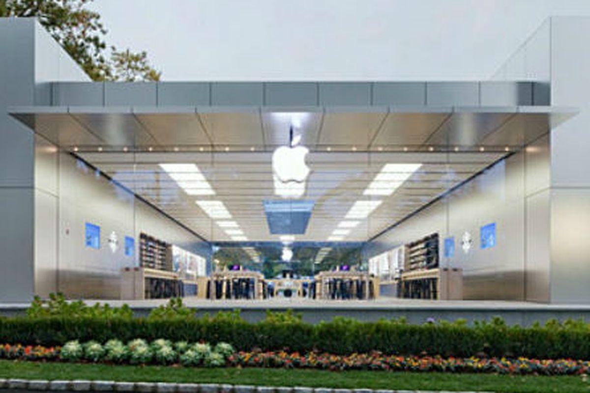 """Image via <a href=""""http://www.apple.com/retail/manhasset/"""">Apple</a>"""