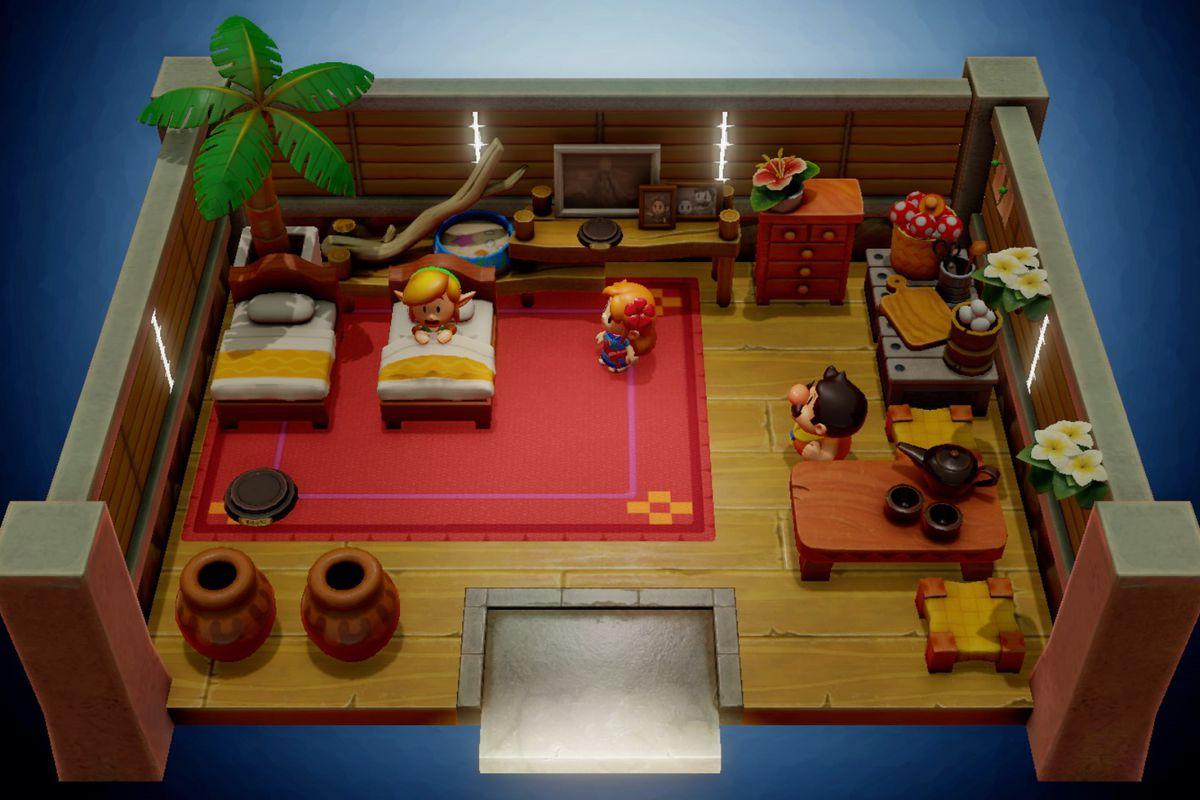 Legend Of Zelda Link S Awakening Remake The Biggest
