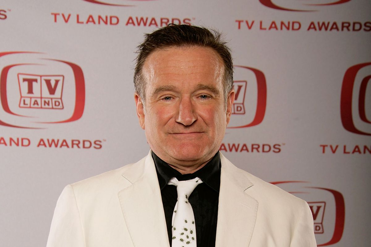 Comedian and actor Robin Williams in 2008