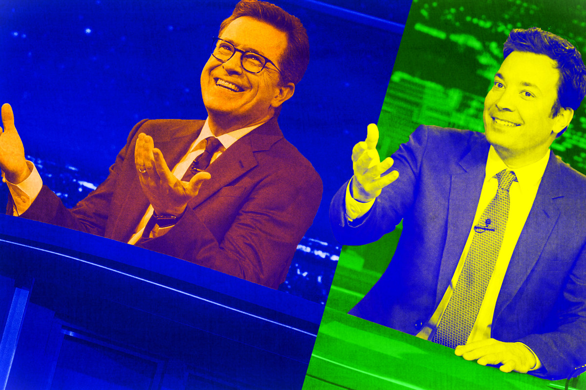 does a late-night show need to be political to succeed in 2017