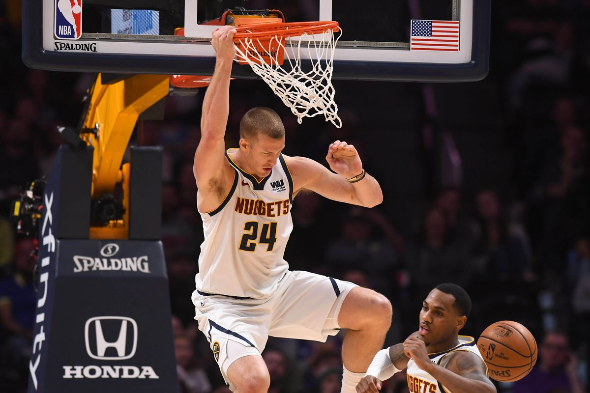 Image result for mason plumlee nuggets usa today