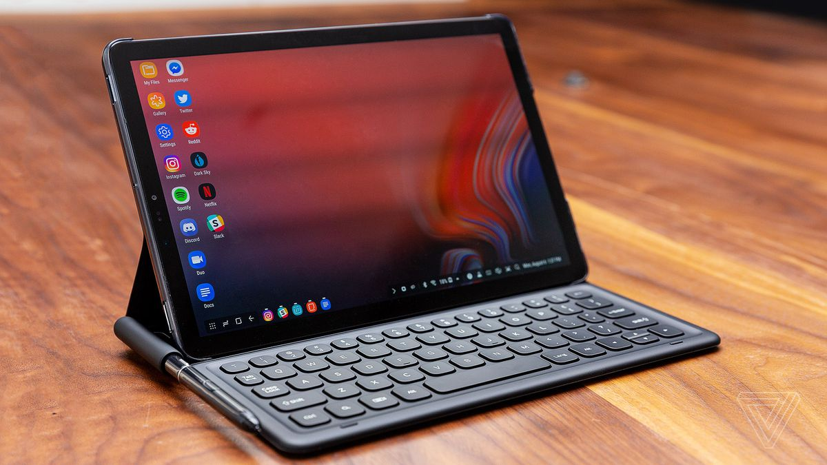 Samsung Galaxy Tab S4 Review Valiant Effort The Verge