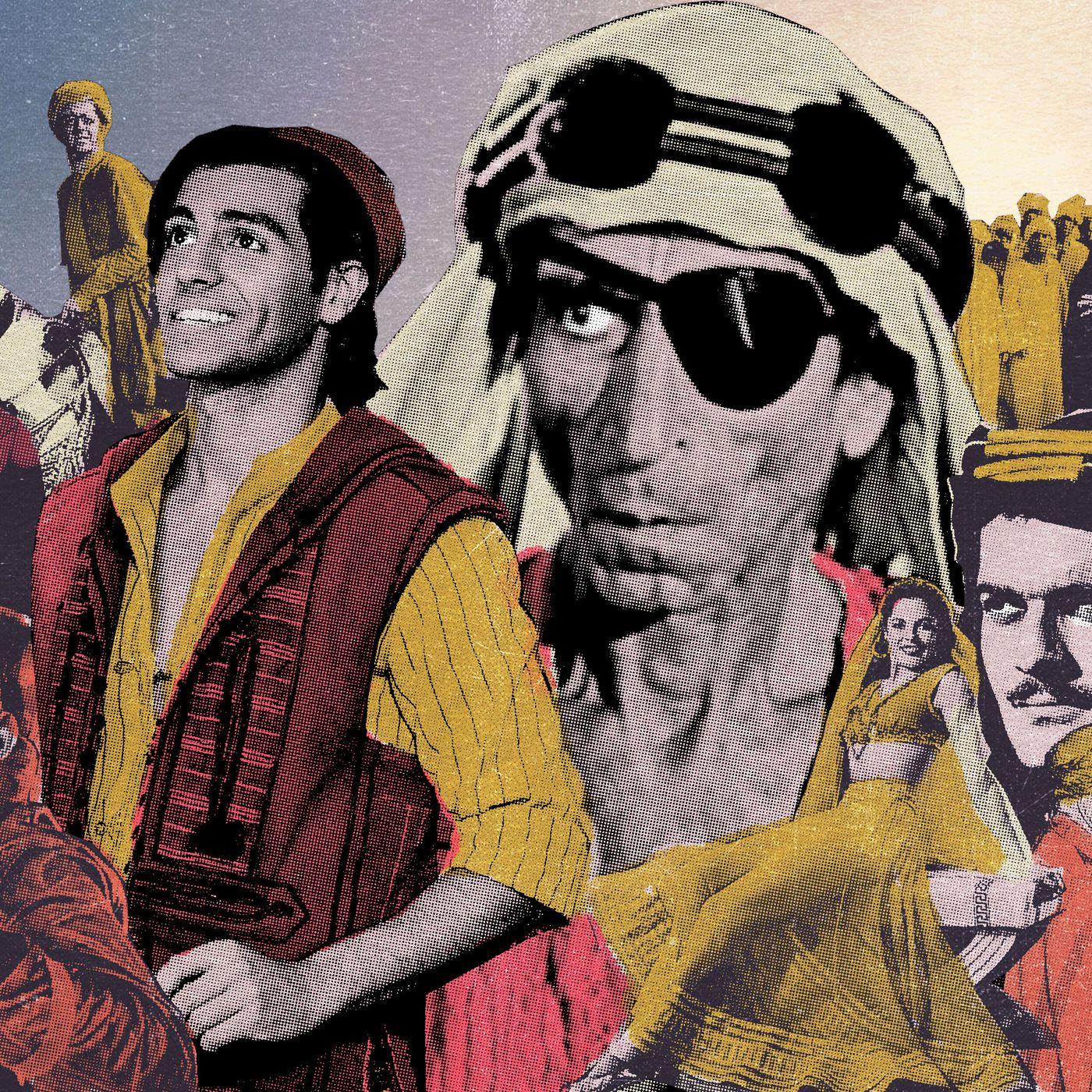 The First Arab American Movie Star Long Before Aladdin The Ringer