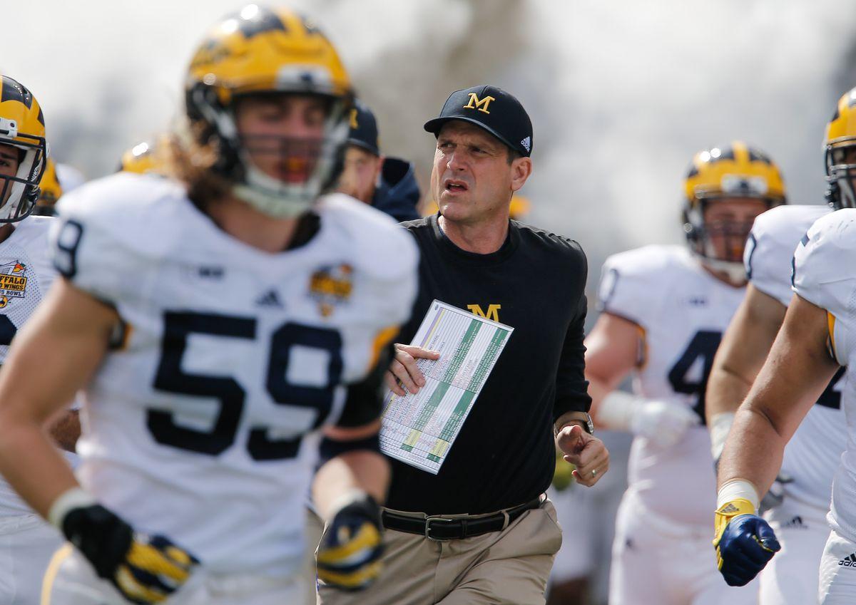 NCAA Football: Citrus Bowl-Michigan vs Florida