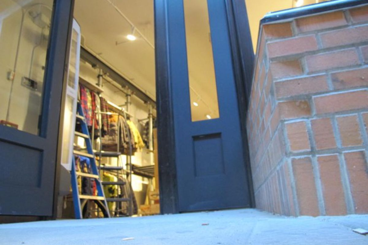 """Photo via <a href=""""http://www.boweryboogie.com/2013/09/patagonia-surf-shop-opens-bowery-next-week/"""">Bowery Boogie</a>."""