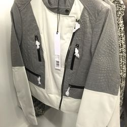 Leather jacket, $500 (was $1,990)