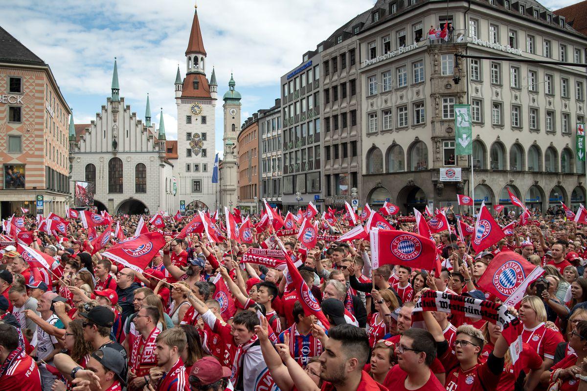 Master Celebration FC Bayern Munich