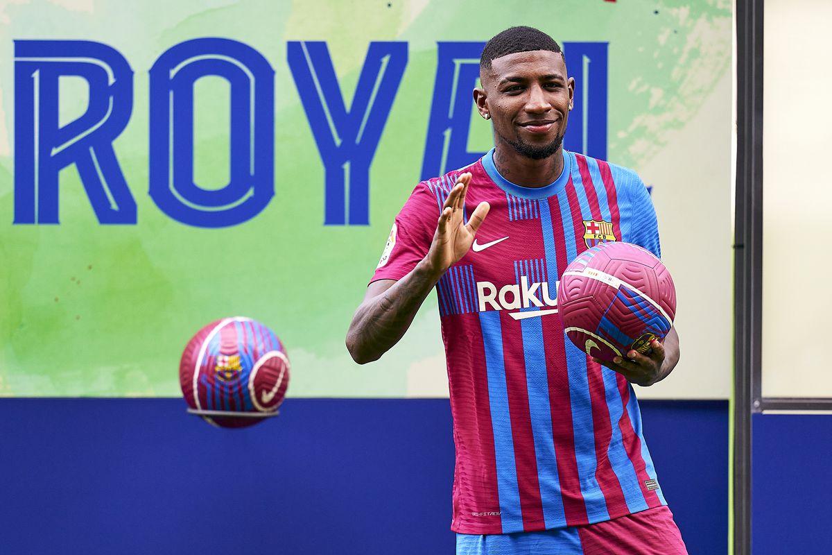 Emerson Royal officially presented as Barcelona player - Barca Blaugranes