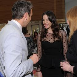 Liv Tyler makes this man very happy just by talking to him.