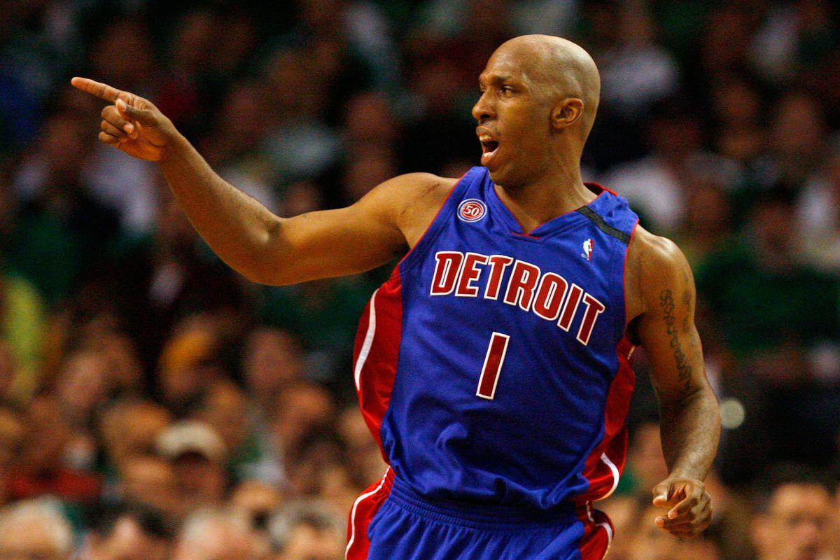Detroit Pistons v Boston Celtics, Game 1