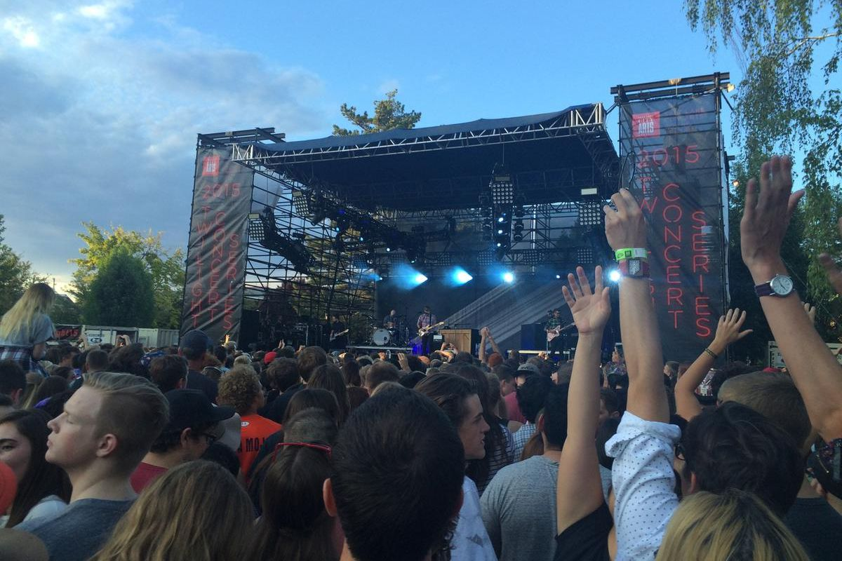 A look at the Twilight Concert Series at Pioneer Park in 2015