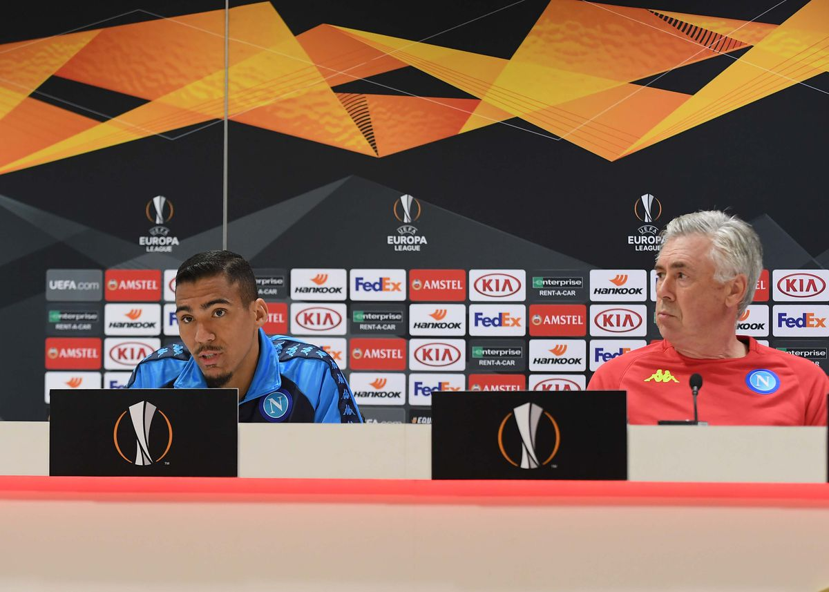 SSC Napoli Training Session And Press Conference
