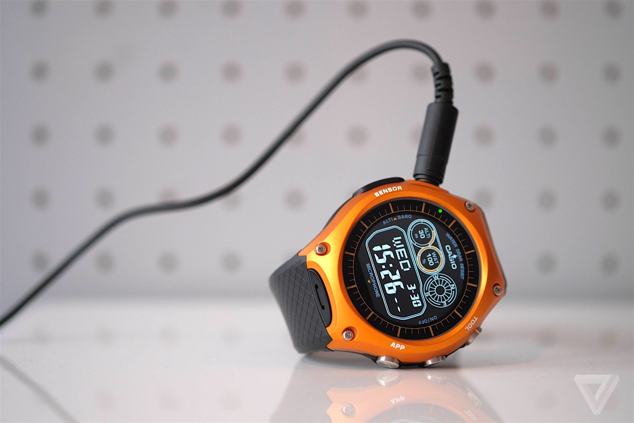 Casio Smart Outdoor Watch Review Android Wear Climbs A Mountain Core Digital