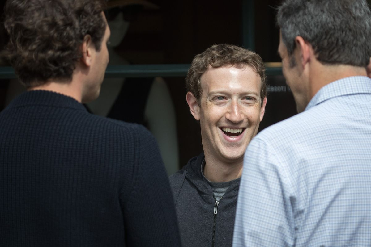 Mark Zuckerberg, chief executive officer and co-founder of Facebook Inc., attends the annual Allen & Company Sun Valley Conference, July 6, 2016 in Sun Valley, Idaho.
