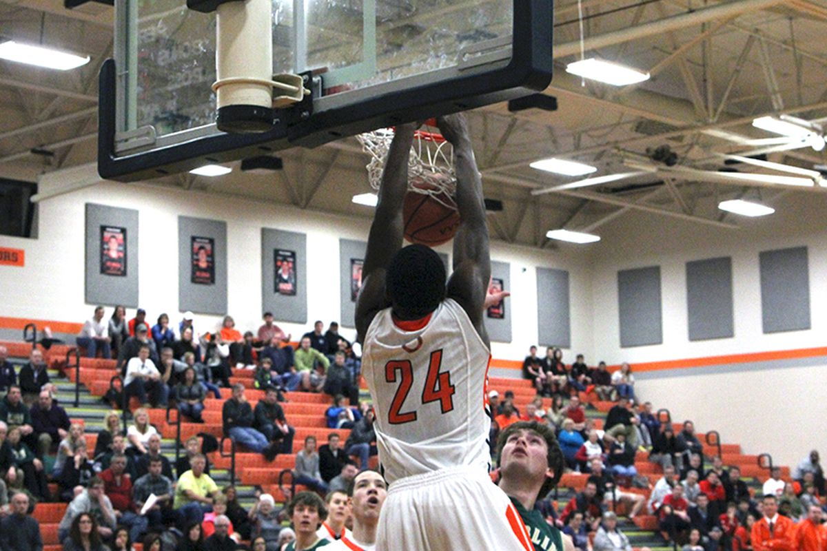 Khalil Iverson will be looked to lead Delaware Hayes to a big second round win at home vs. New Albany