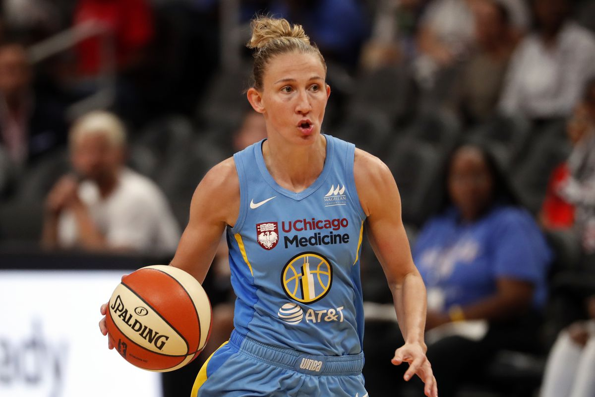 Courtney Vandersloot has made her intentions to stay in Chicago clear.