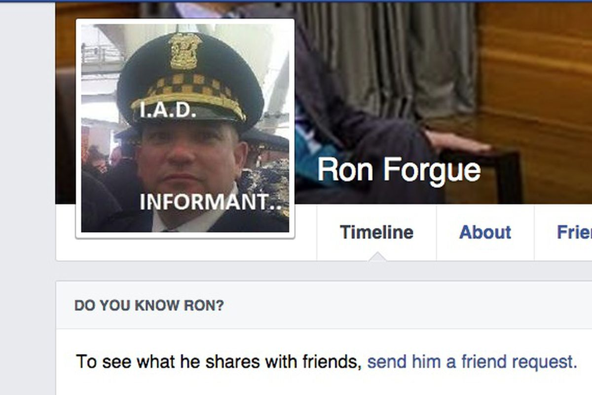 Former Chicago Police lieutenant sues over fake Facebook page and