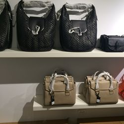 Bags: Black, $195 (from $650); beige, $115 (from $595)