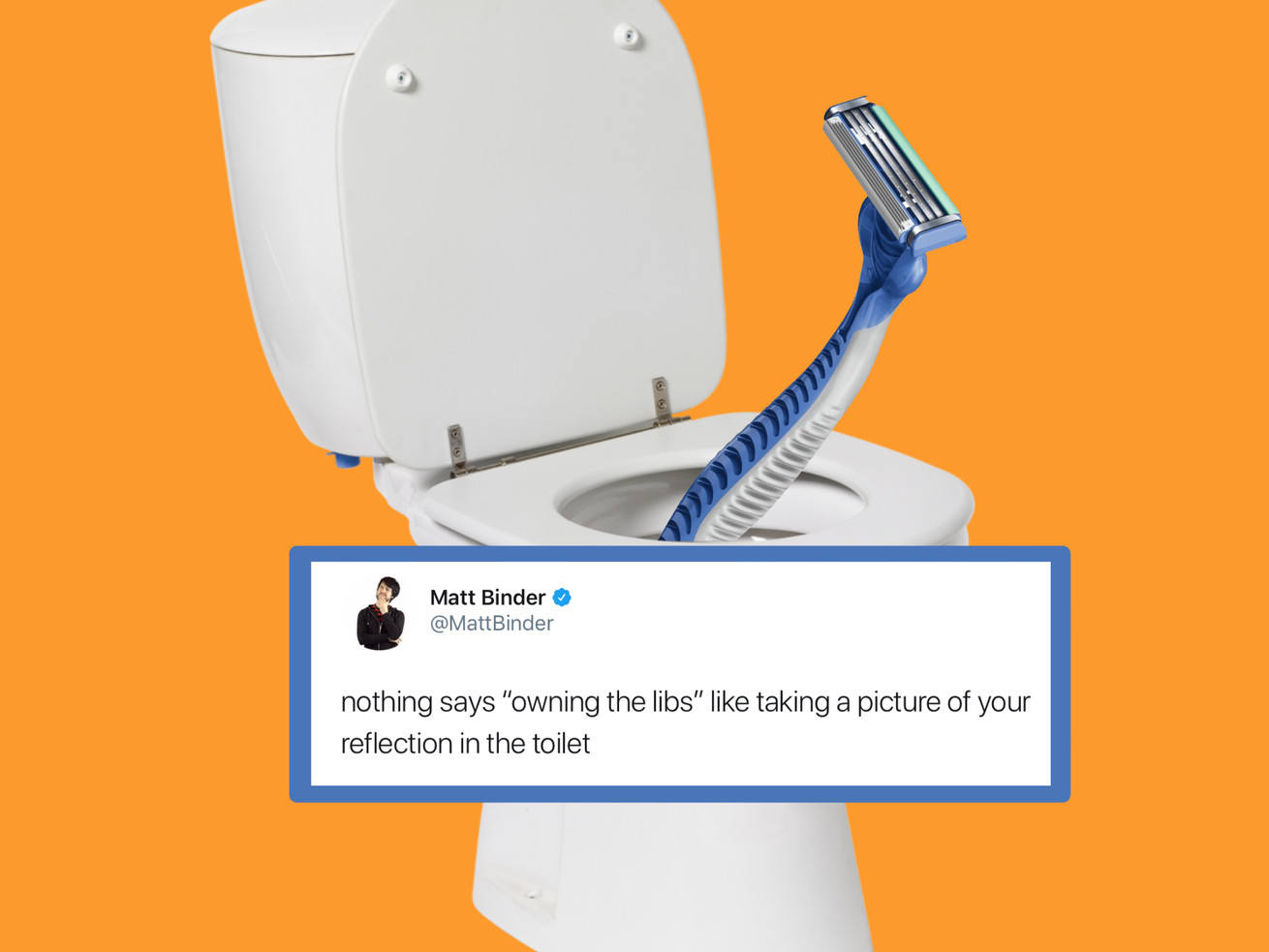Angry Man Throws Razor In The Toilet - Destroys Gillette And All Liberals Everywhere