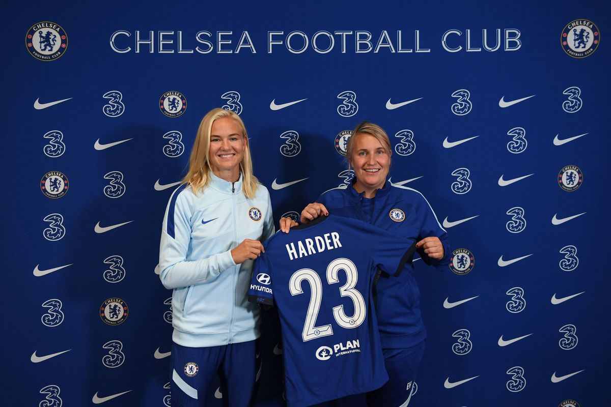 Chelsea FC Women Unveil New Signing Pernille Harder