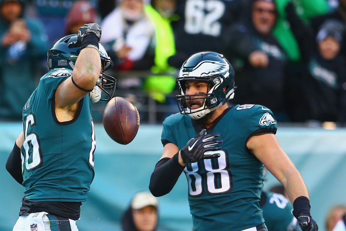 Eagles News: Philadelphia's tight end group ranks second in the NFL