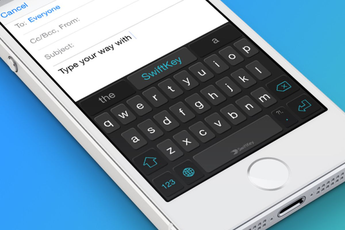 This is what SwiftKey looks like on iOS - The Verge