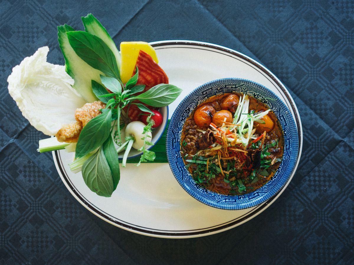 Thai-inspired curries at Farang
