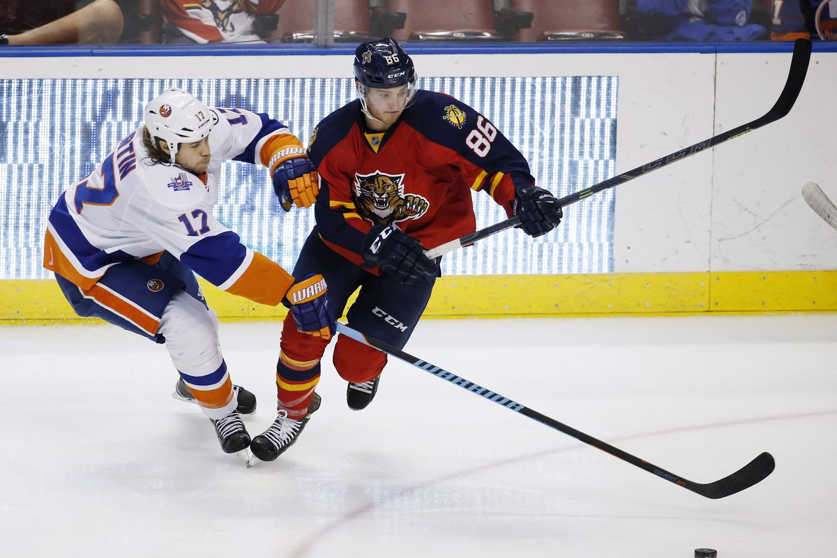 Connor Brickley scored a goal and assist against Hartford.