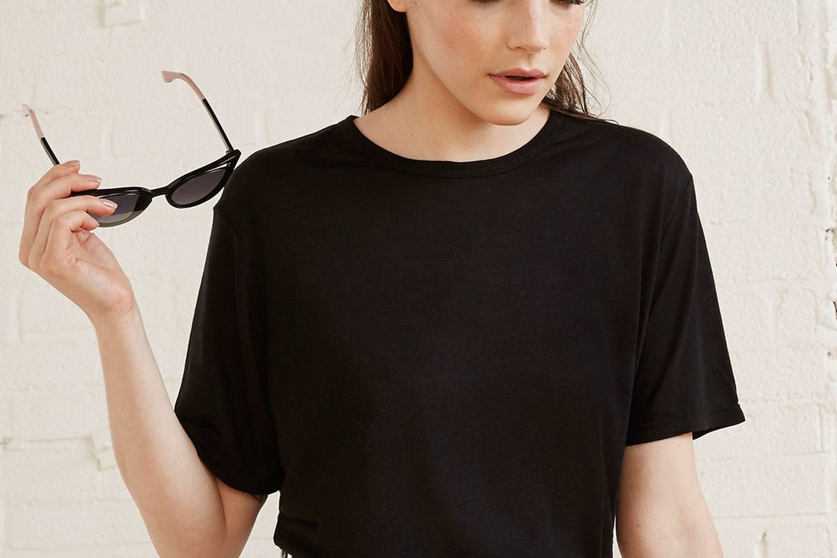 Reformation's oversized flax tee