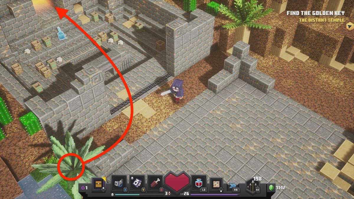 Minecraft Dungeons Find ten runes to unlock the secret mooshroom cow level