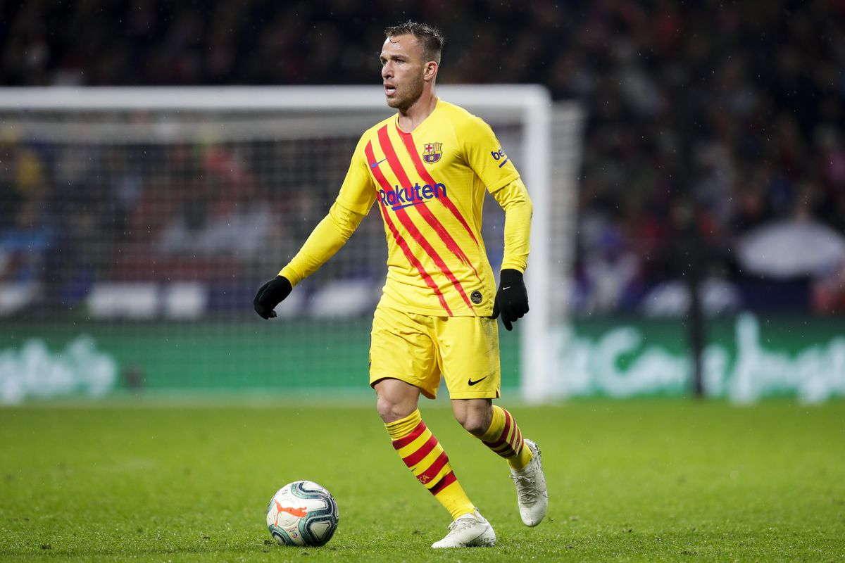 Image result for arthur melo vs atletico madrid