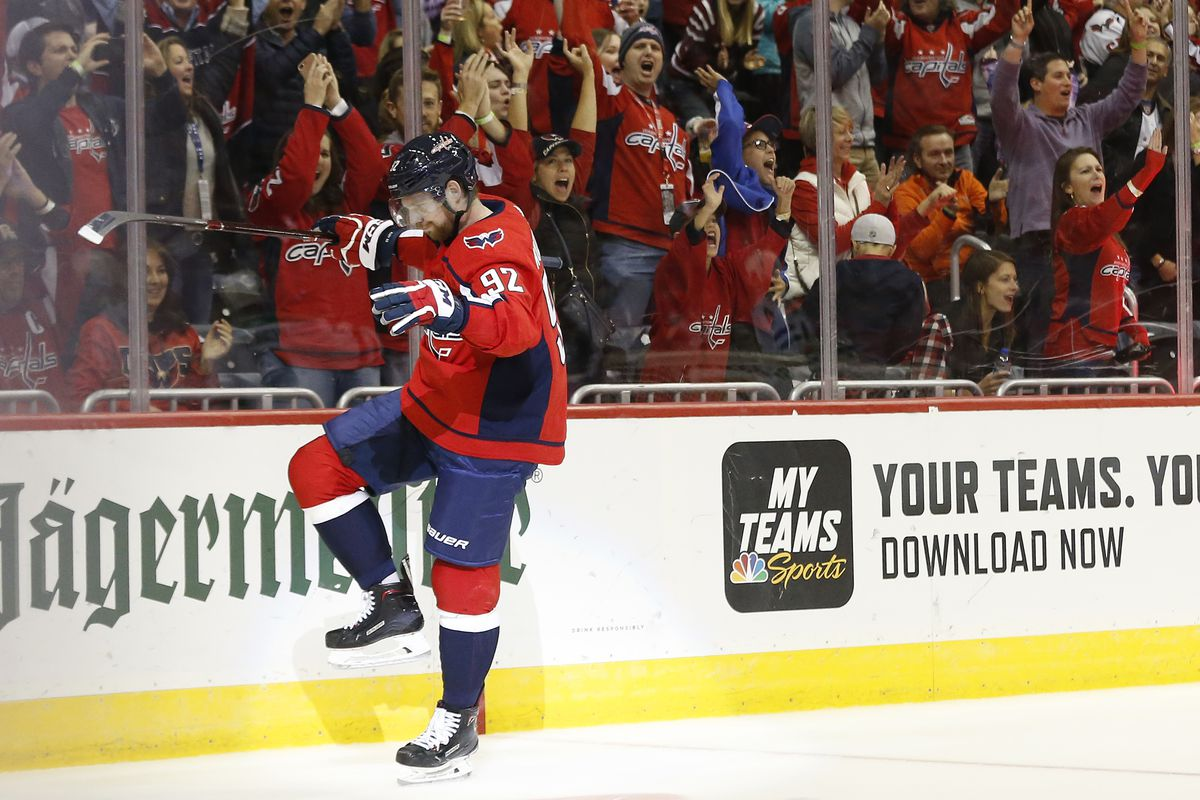5a04f2eee1d Yet Another Power Play Goal for Evgeny Kuznetsov Salvages a Point for the  Capitals against the Stars