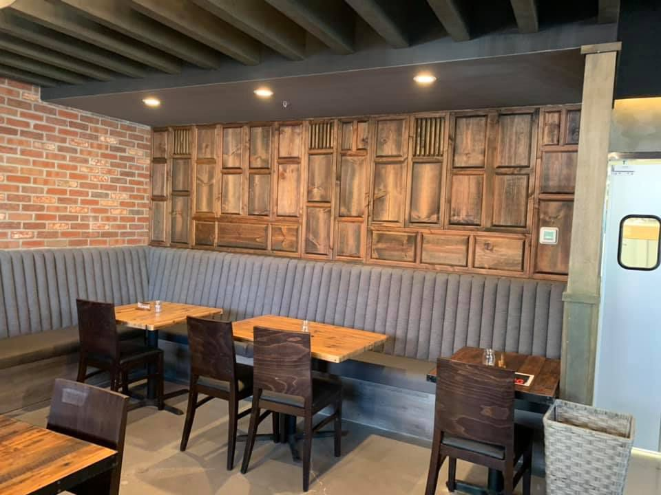 A section of the main dining room at Nittaya's Little Kitchen in Centennial.