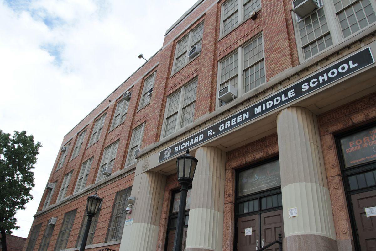 The Richard R. Green campus in the Williamsbridge neighborhood of the Bronx houses multiple schools in the Renewal program.