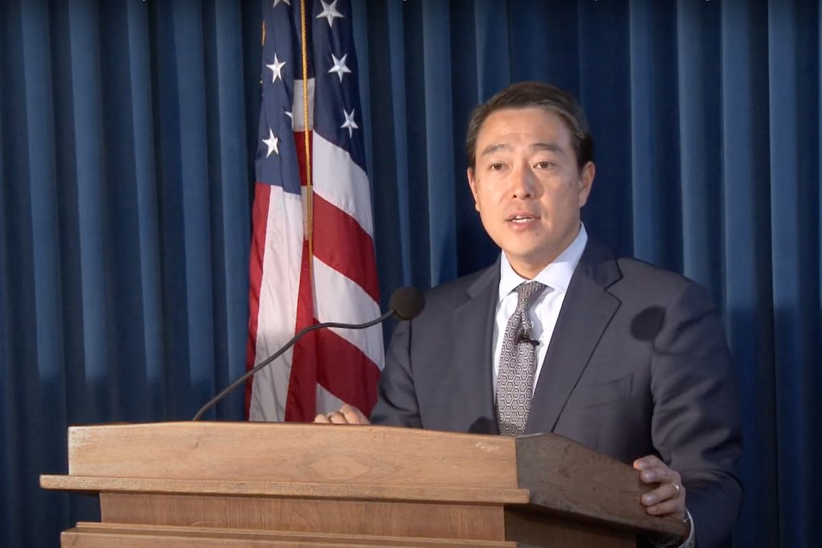 Joon Kim, pictured here in his previous role as acting U.S. Attorney for the Southern District of New York.