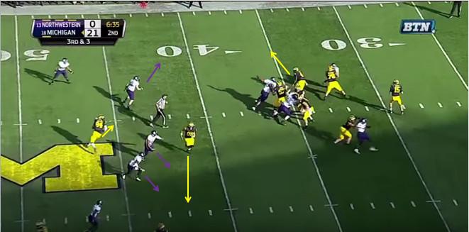 FF - Northwestern - Williams - 13-Yard Hitch - 3