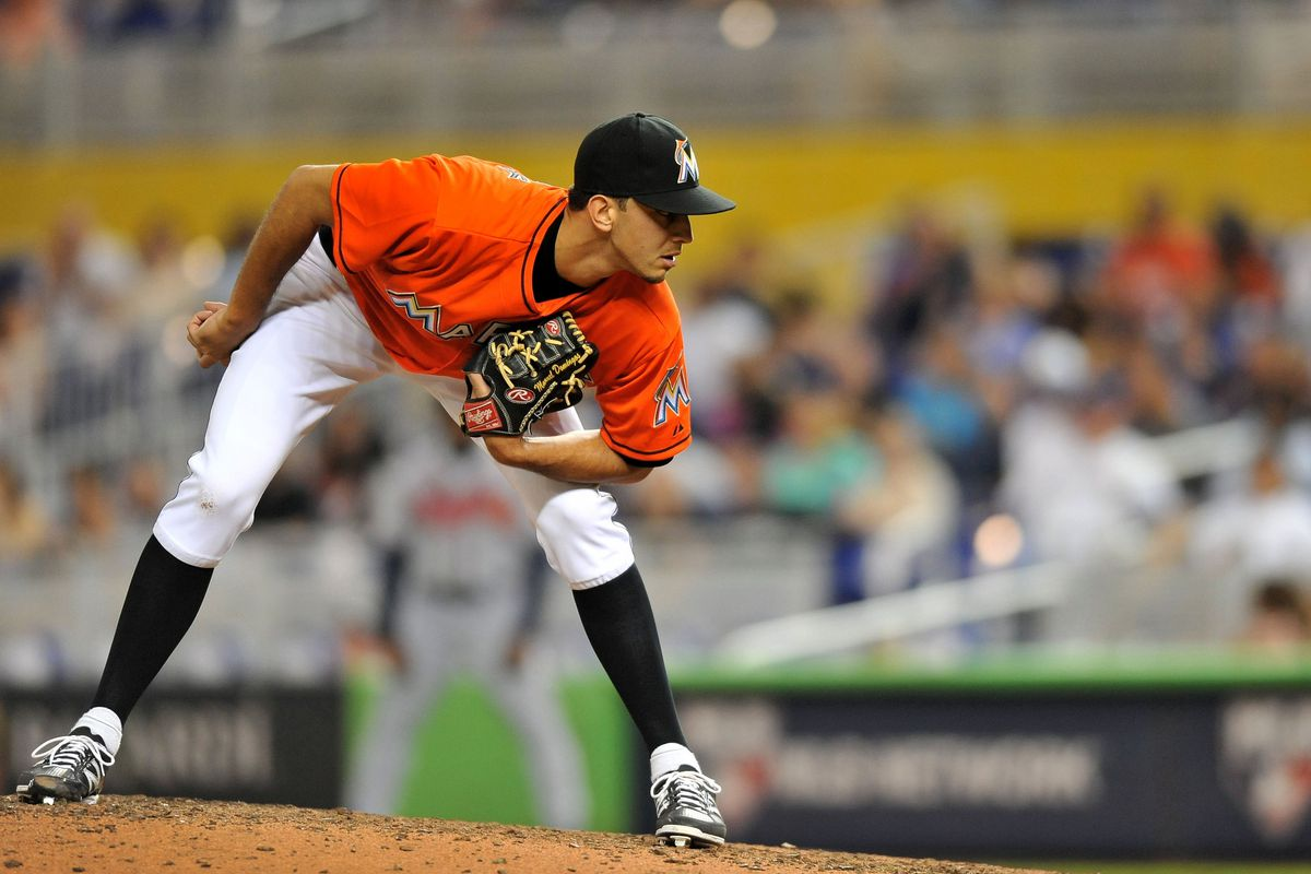 Miami Marlins closer Steve Cishek is expected to earn over $3 million in 2014 thanks to his 52 career saves