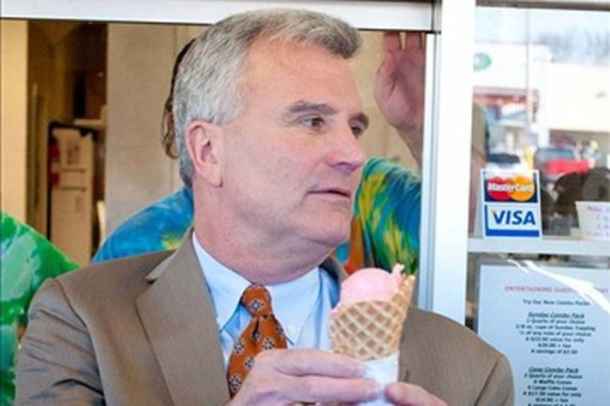 Bruce Weber, shown here trying to win his new team's affection by taking them out for ice cream