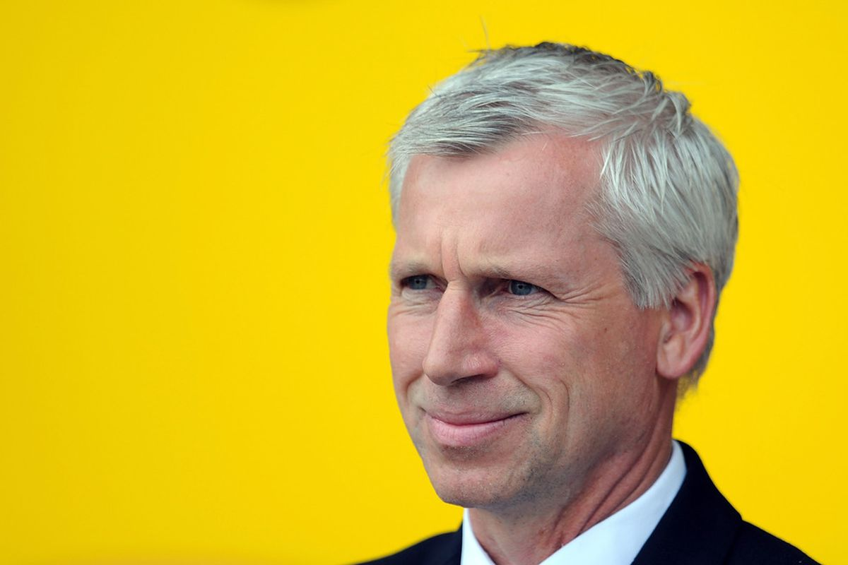 Alan Pardew:  Good for Newcastle United.  Good for your eyes.