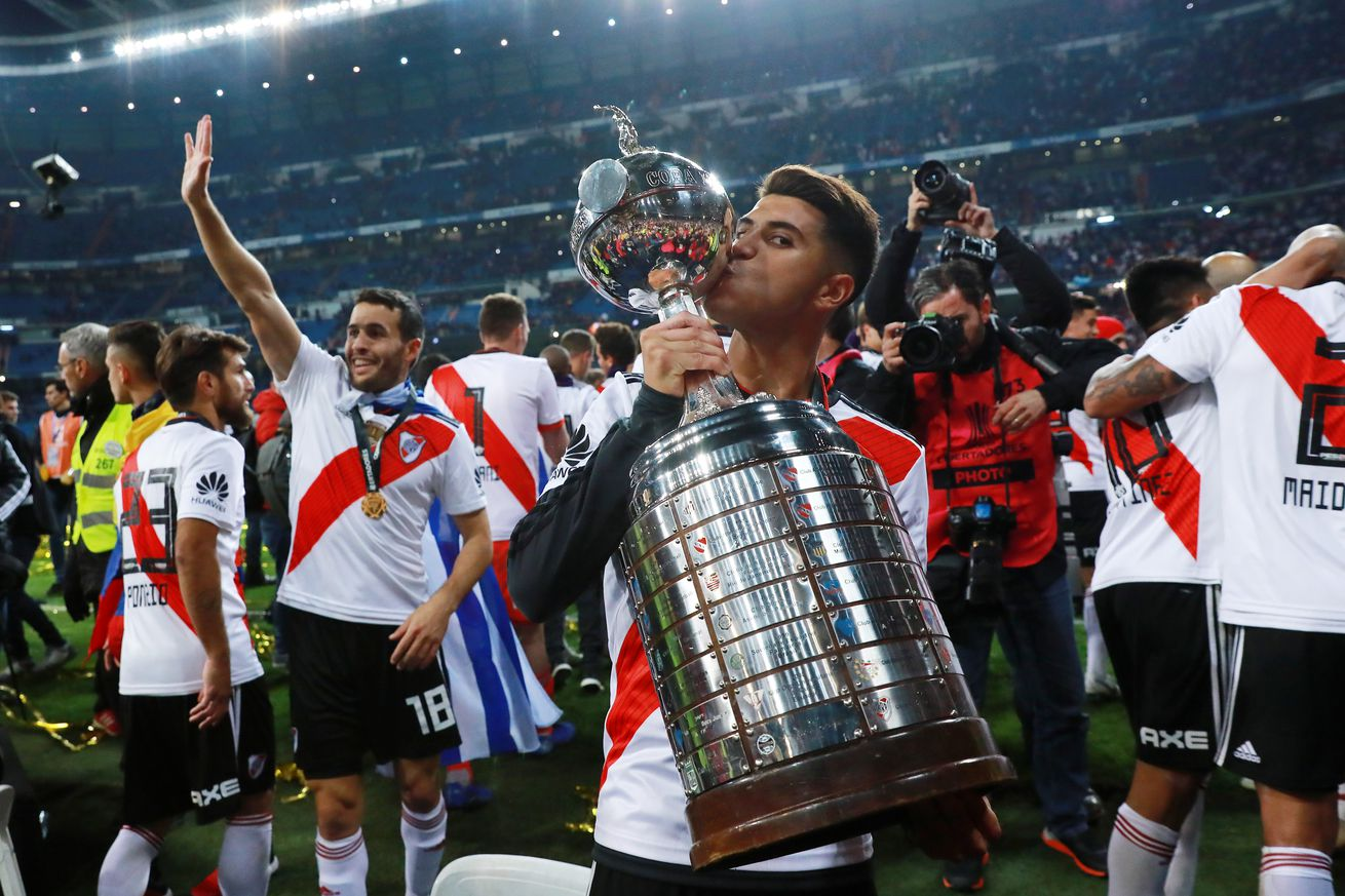 Talent Tracker: Exequiel Palacios vs Boca Junior?Copa Libertadores Final Leg 2