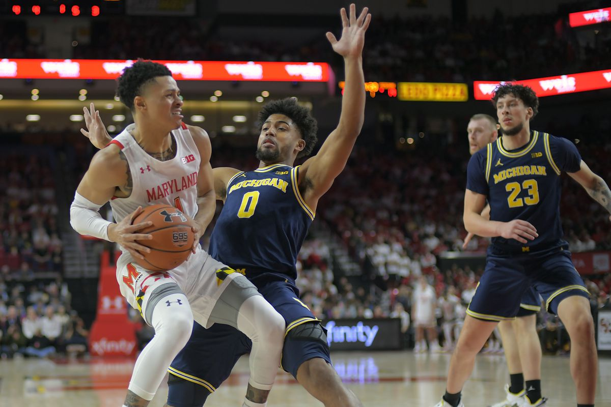 Maryland Terrapins and the Michigan Wolverines