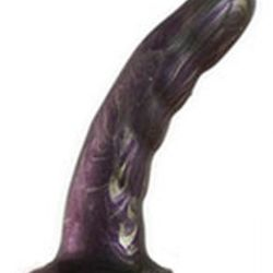 Vamp Silicone Wilde Dildo- Named after the master of wit, the sloping curve of the shaft, combined with gentle undulations ideal for massaging the vaginal canal, will have you in stitches of deep ecstasy in no time. Featuring a smooth silky feel unique fo