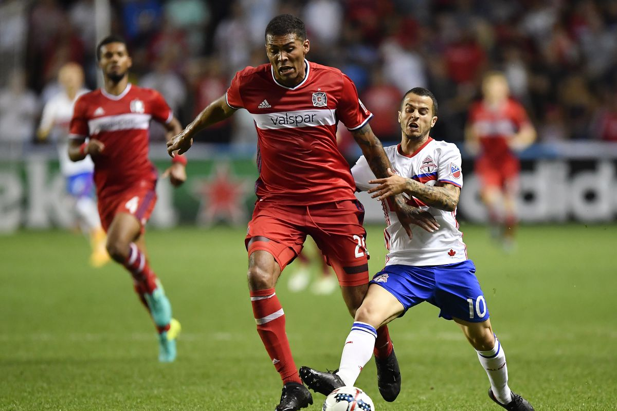 SOCCER: AUG 19 MLS - Toronto FC at Chicago Fire