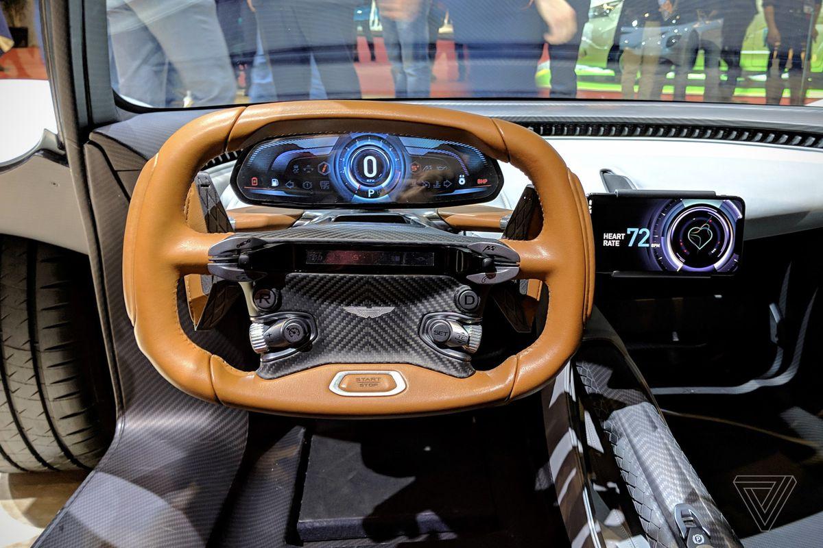 Aston Martin S New Hypercar Makes You Use Your Smartphone As