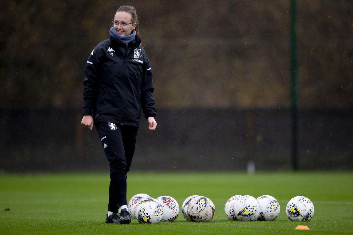 Aston Villa Women Training Session