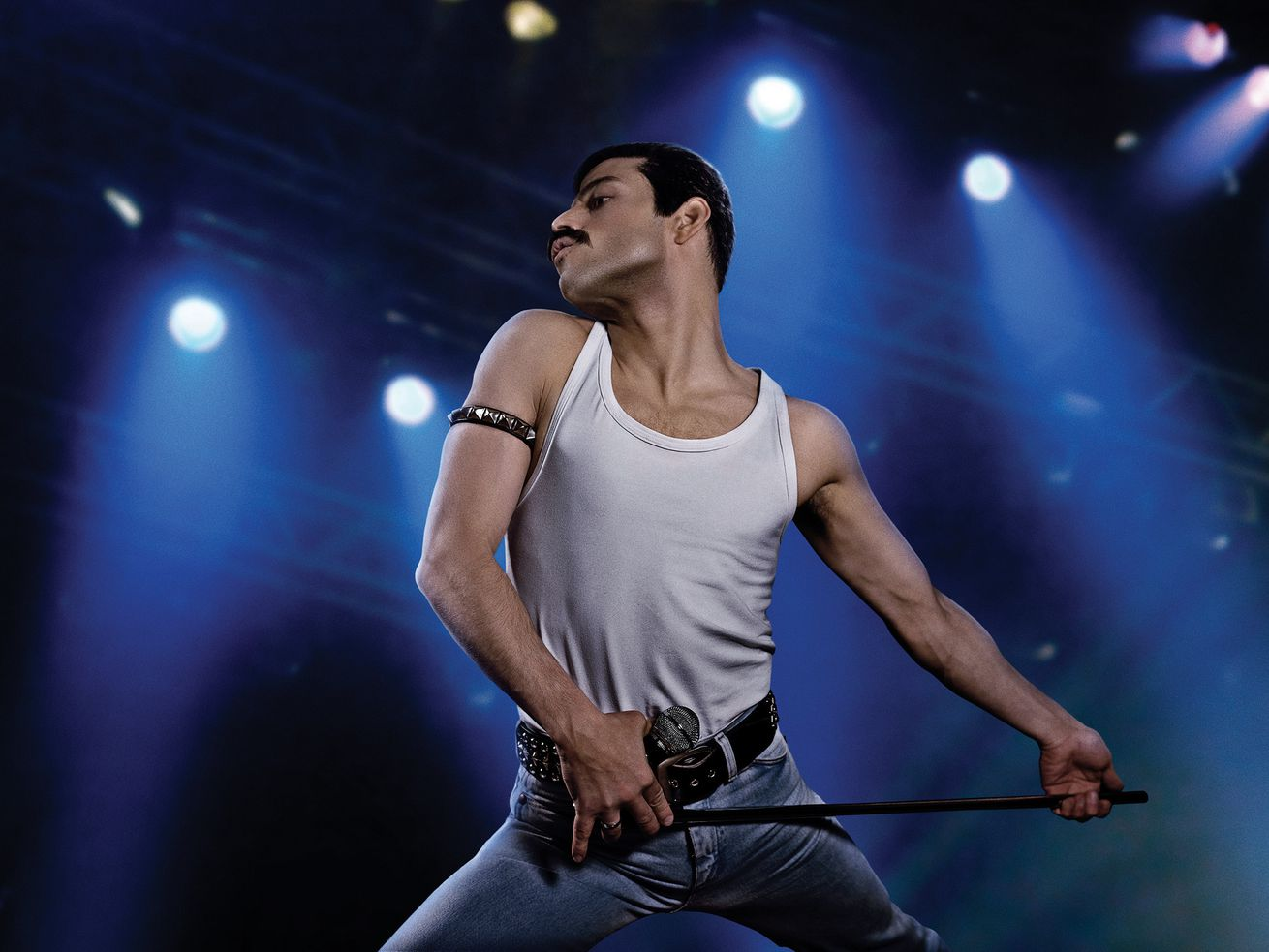 Rami Malek plays Freddie Mercury in <em>Bohemian Rhapsody.</em>