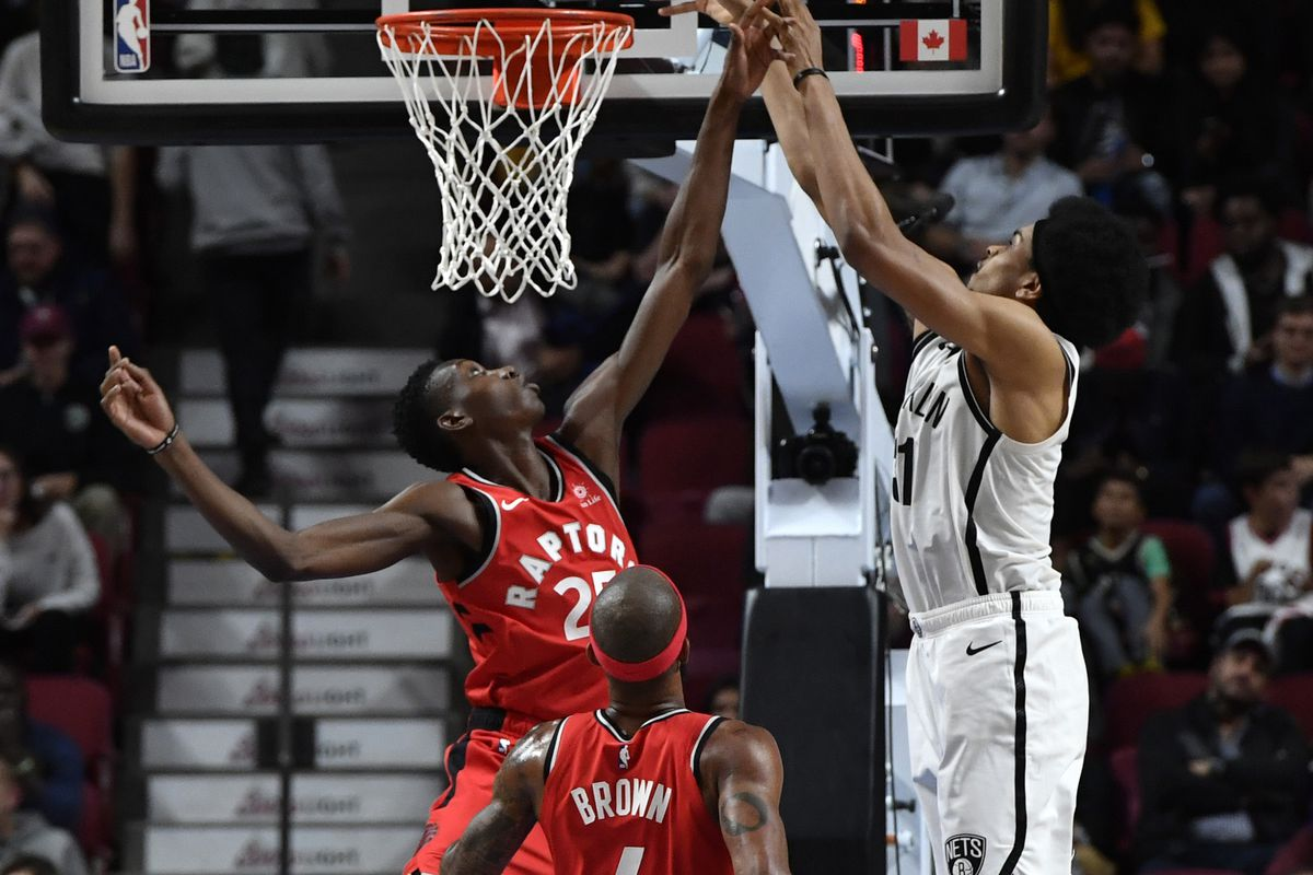 NBA: Preseason Toronto Raptors Chris Boucher Two-way deal